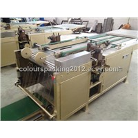 Automatic sewing machine for valve bags