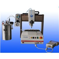 Automatic silicone adhesive filling machinery