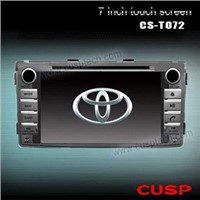 CAR DVD PLAYER WITH GPS FOR TOYOTA HILUX 2012