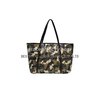 Camouflage Waterproof Tote Bag (B477NL)