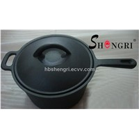 Cast iron cooker Chicken Fryer with lid
