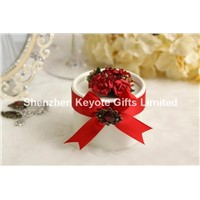 Colorful printing paper board wedding favor box