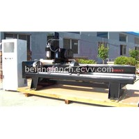 Cylinder Stone/ Mable/ Granite/ Woodworking 3D Engraving Machine
