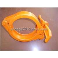DN125 Schwing concrete pump delivery pipe snap clamp