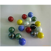 Decorate glass ball/glass marble ball for children toys