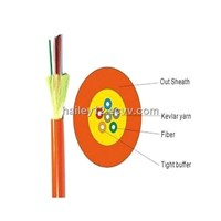 Distribution tight buffer optical fiber indoor cable: GJFJV in Communication Cable