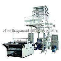 Double Layer Co-extrusion Rotary Film Blowing Machine