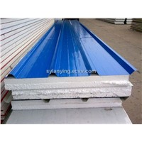 EPS sandwich roof panel YX40-320-960 50mm,75mm,100mm