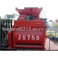 Environment friendly JS750 concret mixer