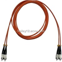 FC/PC-FC/PC Multimode Duplex Fiber Optic Patch Cable