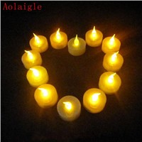 Flameless And Romantic Led Candles With Real Flame