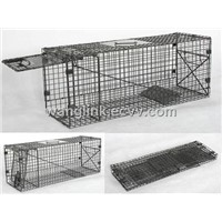 Folding Cat Cage Trap
