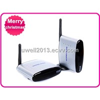 Free Shipping !! 2.4G Wireless AV Sender & IR Remote Extender,PAT-220