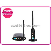 Free Shipping !! 2.4G Wireless AV Sender,transmitter & receiver,PAT-360