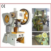 General Open Back Press with Fixed Bed Punching Machine, Work Table Mechanical Press Machine