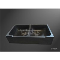 Grante double bowl kitchen sink LD-K019