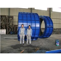 Hot Sale Suspension Roller Type Concrete Pipe Making Machine XG-2500