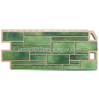 Haichuang Hot sale  New design pp faux stone panel