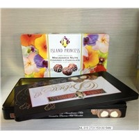 High Quality Chocolate tin boxes, Chocolate packaging boxes , Metal boxes for chocolates
