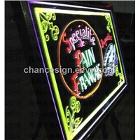 High quality and brightness best for advertising factory direct LED writing board