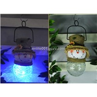 Holiday Light,Led Solar Panel Powered Decoration Light,8 Hours Lighting Time,Christmas Design