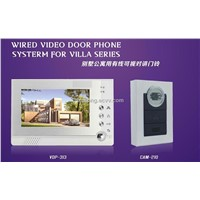 Home Security Video Doorphone with Memory