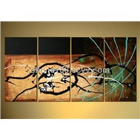 Home decorative canvas abstract oil painting for house