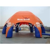 Inflatable Spider Dome tent with 6 Air Columns