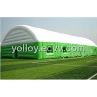 Inflatable Sport Tent as Instant Portable Stadium Outdoor Event