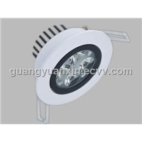LED Black-white ceiling Light