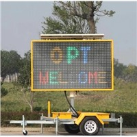LED Full Matrix Variable Message Sign Australian B Size With Display Size 2400mm*1500mm