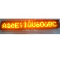 LED bus display LED car display LED moving sign LED programmable scrolling message sign