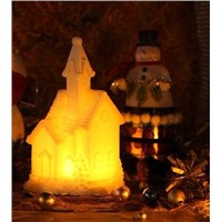 LED wax house candle /Christmas gifts