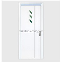 Leisure series pvc door for bedroom, pvc entrance door