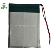 Lipo, Lithium Polymer 335078 3.7V 1450mah battery with PCM