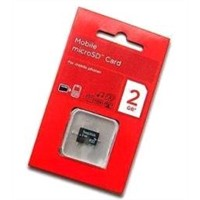 Micro SD Card with Card Adapter, 4GB Capacity, Supports SD and Sdi Communication Protocols