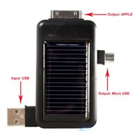Mini Solar Power Bank for iPhone