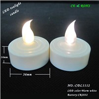 Mostly Popular And Super Bright Pink Flameless Birthdays LED Tea Light Candle Wholesale