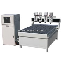 NC-D1212 Multi-Spindles CNC Router