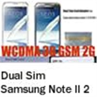 Newest Dual Sim Card Adapter Supporting Samsung Galaxy Note II 2 N7100 . Non-Cutting Type.