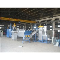 PET Bottle Flakes Crushing Washing Drying Recycling Line