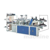 PE plastic Rolling T-shirt & flat bag making machine