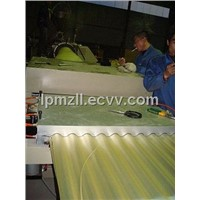 PVC Corrugated Roof Sheet Making Machine
