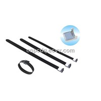 PVC sprayed stainless steel cable tie BZ-L series