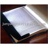 Portable Bright Book Wedge Reading Night Light Panel Travel Lamp