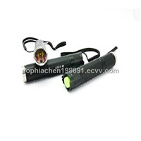 Portable aluminmun mini cree led flashlight torch