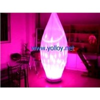 Portable Inflatable Light Change Bulb Stage Decoraton