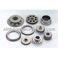 Powder metallurgy gear for electric power tools