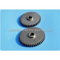 Powder metallurgy sintered gears for power tools