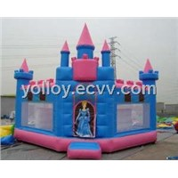 Princess Party Castle Inflatable Bouncy Castle